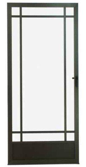 Hinge screen door